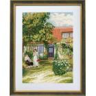 Дамы в саду Набор для вышивания Eva Rosenstand 94-356