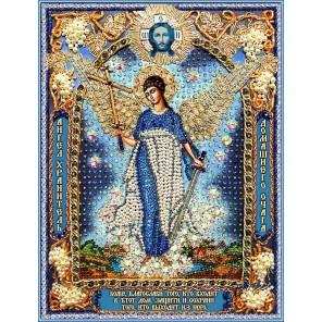 Ангел Хранитель домашнего очага Набор для вышивания хрустальными бусинами СТУДИЯ ВЫШИВКИ