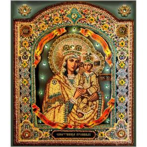 Споручница грешных Набор для вышивания хрустальными бусинами с золотным шитьем СТУДИЯ ВЫШИВКИ