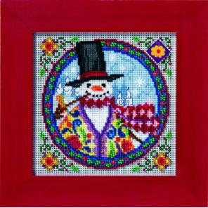 Восточный снеговик Набор для вышивания MILL HILL
