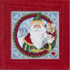 Отец Рождества Набор для вышивания MILL HILL