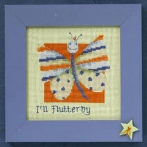 Бабочка Набор для вышивания бисером MILL HILL