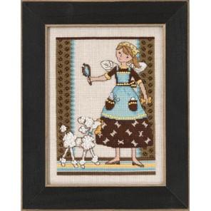 Избалованная собачка Набор для вышивания бисером MILL HILL
