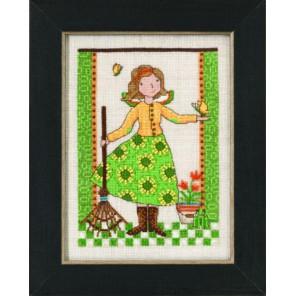 Весенний сад Набор для вышивания бисером MILL HILL