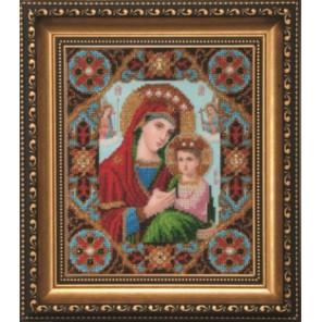 Икона Неустанная Помощь Набор для вышивания бисером Чаривна Мить