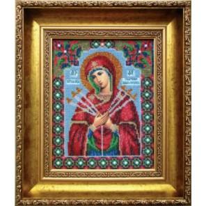 Умягчение злых сердец Набор для вышивания бисером Икона Божьей Матери Чаривна Мить