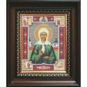 Святая Матрона Московская Набор для вышивания бисером Икона Чаривна Мить