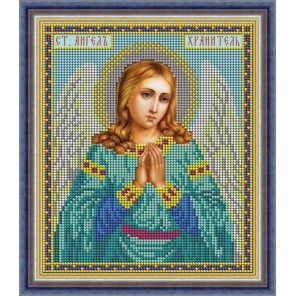 Ангел Хранитель Набор для вышивания бисером Икона GALLA COLLECTION