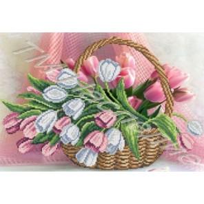 Тюльпаны Набор для вышивания бисером ТМ НАСЛЕДИЕ