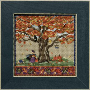 Осенний дуб Набор для вышивания бисером MILL HILL