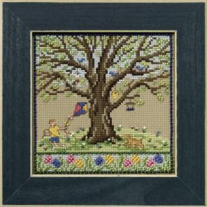 Весенний дуб Набор для вышивания бисером MILL HILL