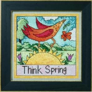 Думаю, Весна! Набор для вышивания MILL HILL