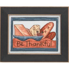 Будь благодарен Набор для вышивания бисером MILL HILL