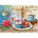 Время пить чай Набор для вышивания бисером МАТРЕНИН ПОСАД