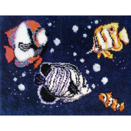 Рыбки Набор для вышивания коврика MCG TEXTILES