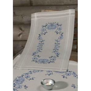 Голубая Набор для вышивания дорожки PERMIN