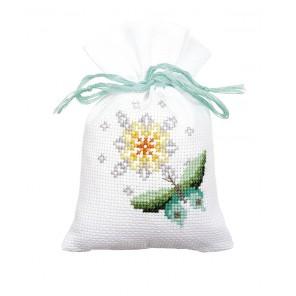 Бабочки Набор для вышивания мешочков (саше) VERVACO