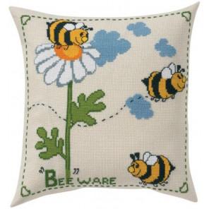 Пчёлки Набор для вышивания подушки PERMIN