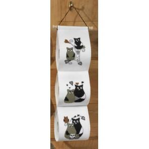 Любовь сов Набор для вышивания держателя для туалетной бумаги PERMIN