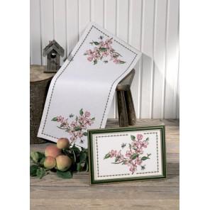Яблоневый цвет Набор для вышивания дорожки PERMIN