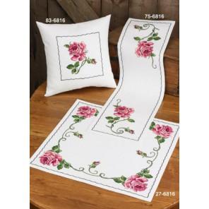 Роза Набор для вышивания дорожки PERMIN