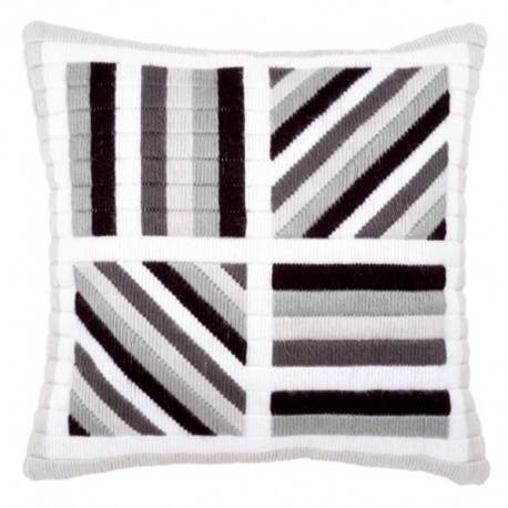 Линии Набор для вышивания подушки VERVACO