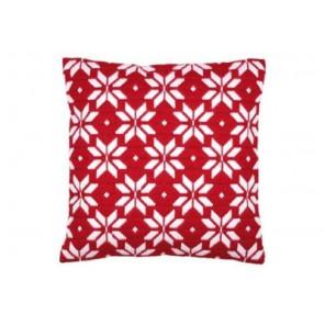 Белые звезды Набор для вышивания подушки VERVACO