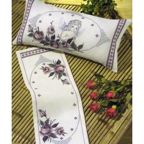 Ангел Набор для вышивания подушки PERMIN