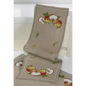 Яблоки Набор для вышивания дорожки PERMIN