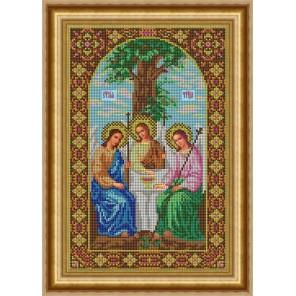 Святая Троица Набор для вышивания бисером Икона GALLA COLLECTION