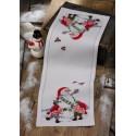 Снеговик Набор для вышивания дорожки PERMIN