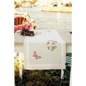 Бабочки Набор для вышивания дорожки VERVACO