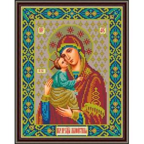 Матери Акафистная Набор для вышивания бисером Икона Божией GALLA COLLECTION