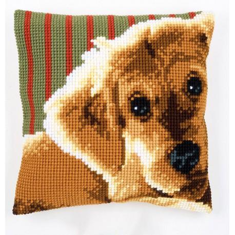 Пёс Набор для вышивания подушки VERVACO
