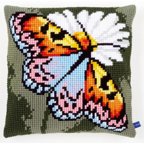 Бабочка Набор для вышивания подушки VERVACO