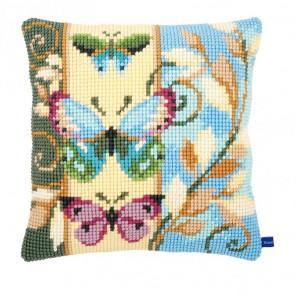 Декоративные бабочки Набор для вышивания подушки VERVACO