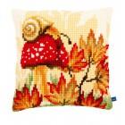 Осенний сюжет Набор для вышивания подушки VERVACO
