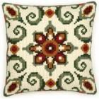 Орнамент Набор для вышивания подушки VERVACO