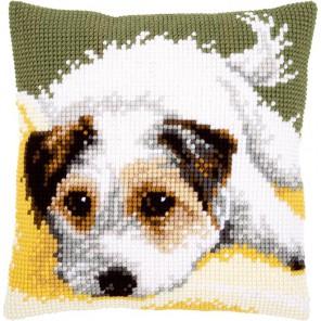 Щенок Набор для вышивания подушки VERVACO