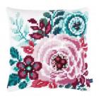 Цветочный рай I Набор для вышивания подушки VERVACO