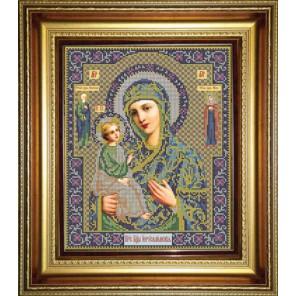 Иерусалимская Набор для вышивания бисером Икона Божией Матери GALLA COLLECTION
