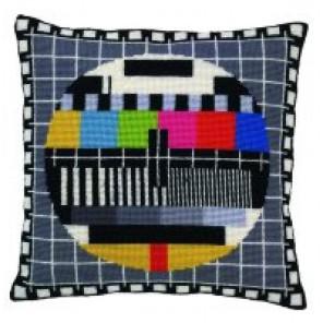 Телеэкран Набор для вышивания подушки PERMIN