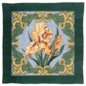 Золотой ирис Набор для вышивания подушки CANDAMAR DESIGNS