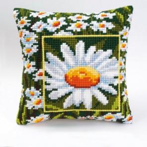 Ромашка Набор для вышивания подушки VERVACO