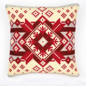 Норвежская звезда Набор для вышивания подушки VERVACO