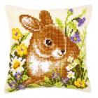 Кролик Набор для вышивания подушки VERVACO