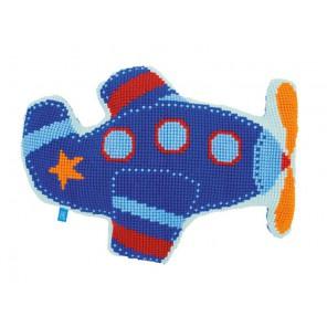 Аэроплан I Набор для вышивания подушки VERVACO