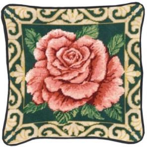 Роза Набор для вышивания подушки CANDAMAR DESIGNS