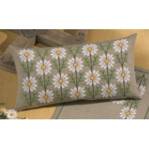 Маргаритка Набор для вышивания подушки PERMIN
