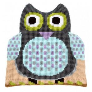 Сова Набор для вышивания подушки VERVACO